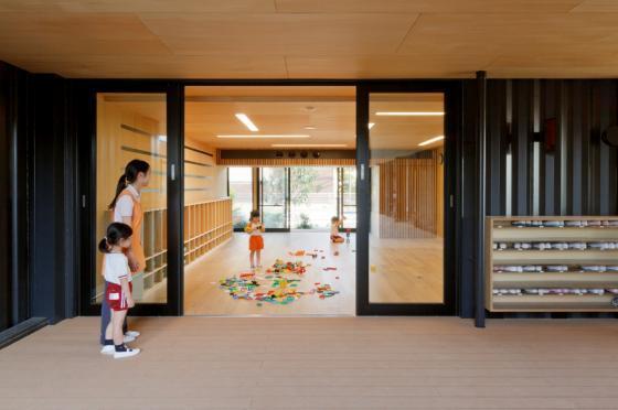 日本OA幼儿园内部实景图-日本OA幼儿园第10张图片