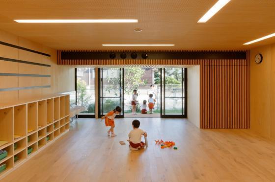 日本OA幼儿园内部实景图-日本OA幼儿园第11张图片