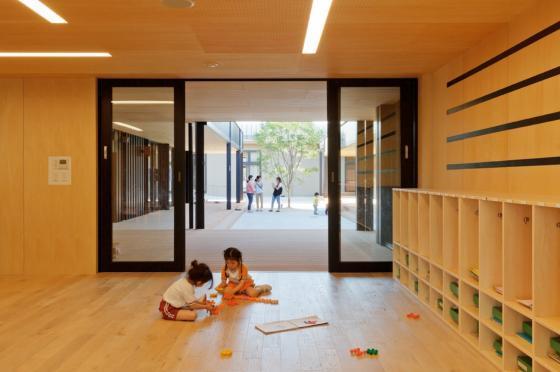 日本OA幼儿园内部实景图-日本OA幼儿园第12张图片