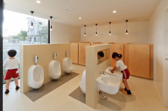 日本OA幼儿园内部实景图-日本OA幼儿园第13张图片