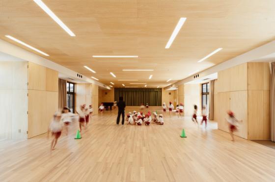 日本OA幼儿园内部实景图-日本OA幼儿园第14张图片