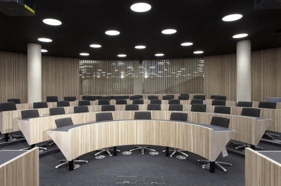 英国牛津Blavatnik政治学院室内实-英国牛津Blavatnik政治学院第8张图片