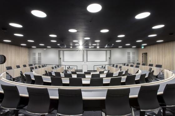 英国牛津Blavatnik政治学院室内实-英国牛津Blavatnik政治学院第10张图片