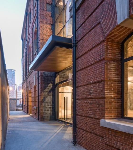 上海新泰仓库改造项目外部实景图-上海新泰仓库改造项目第4张图片