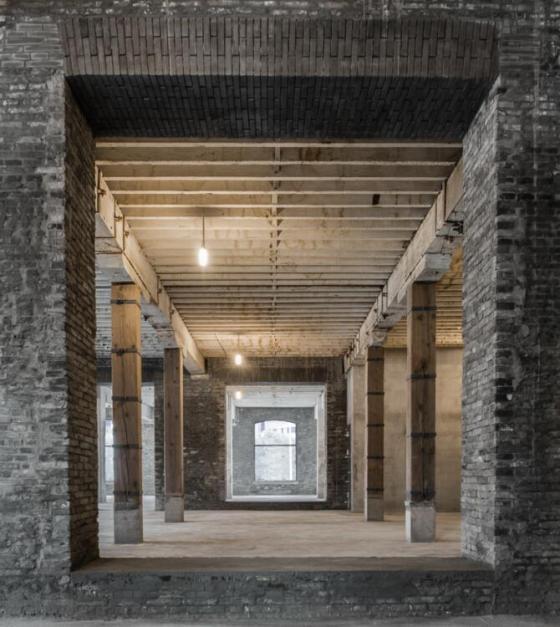 上海新泰仓库改造项目内部实景图-上海新泰仓库改造项目第8张图片