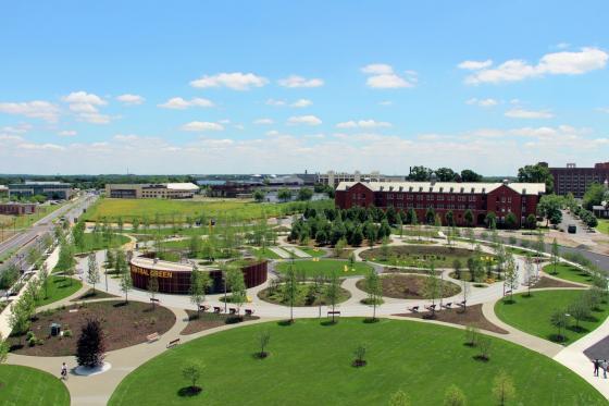 美国费城环形公园外部实景图-美国费城环形公园第15张图片