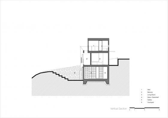 韩国全景住宅剖面图-韩国全景住宅第33张图片