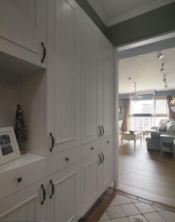 迷人灰蓝风格的住宅室内实景图-迷人灰蓝风格的住宅第2张图片