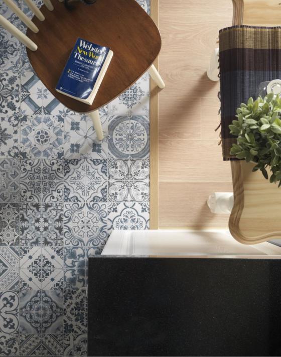 迷人灰蓝风格的住宅室内实景图-迷人灰蓝风格的住宅第18张图片