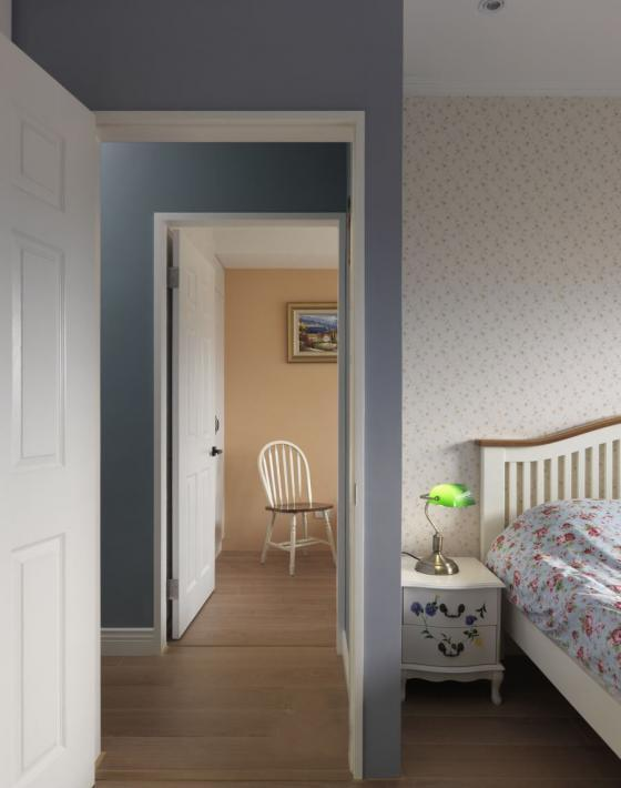 迷人灰蓝风格的住宅室内实景图-迷人灰蓝风格的住宅第21张图片