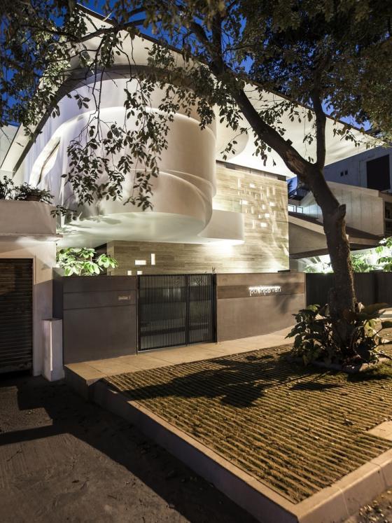 班加罗尔B-one住宅外部夜景实景图-班加罗尔B-one住宅第4张图片