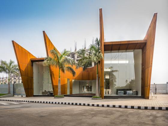 印度Crescent办公楼第1张图片