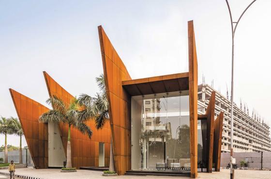 印度Crescent办公楼外部实景图-印度Crescent办公楼第2张图片