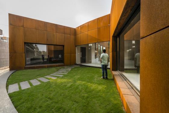 印度Crescent办公楼外部实景图-印度Crescent办公楼第3张图片