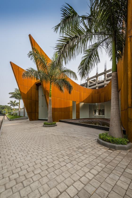 印度Crescent办公楼外部实景图-印度Crescent办公楼第7张图片