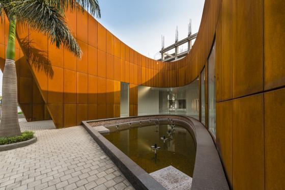 印度Crescent办公楼外部实景图-印度Crescent办公楼第8张图片