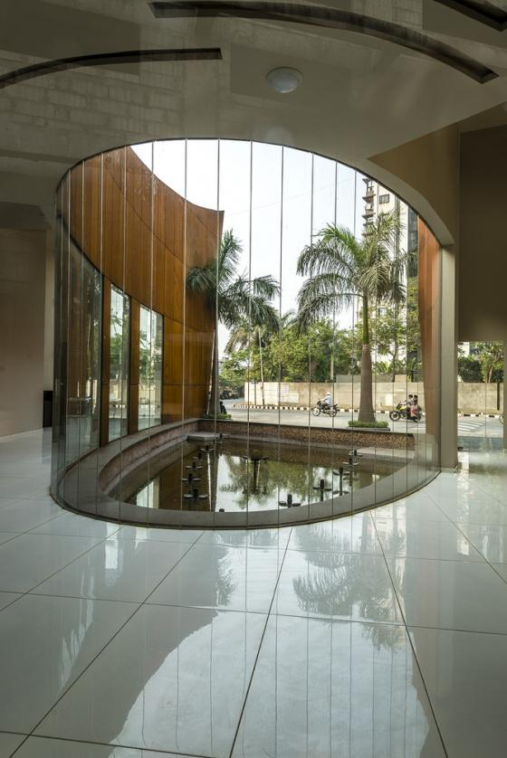 印度Crescent办公楼内部实景图-印度Crescent办公楼第16张图片
