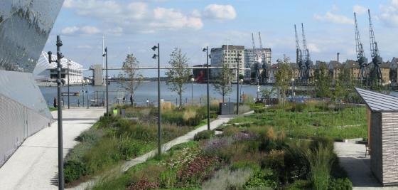英国伦敦水晶大楼外部实景图-英国伦敦水晶大楼第7张图片