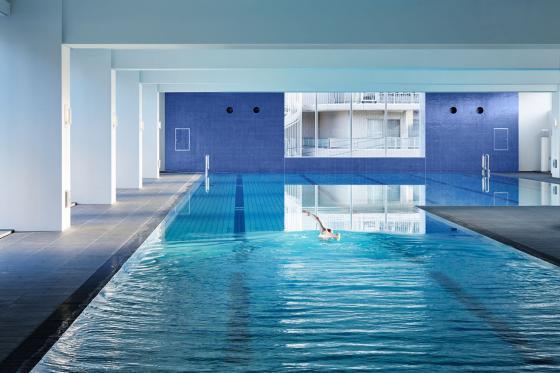 东京水上运动与水疗中心内部实景-东京水上运动与水疗中心第18张图片