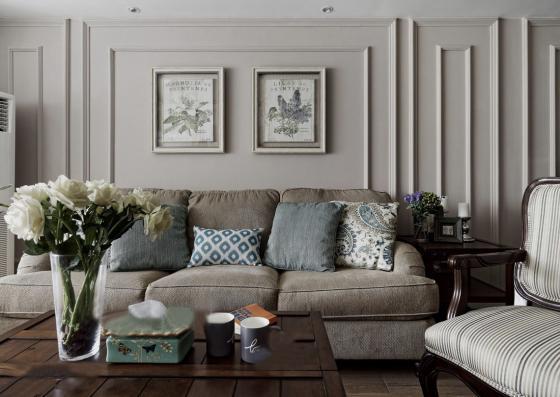 美式家居风格的住宅室内实景图-美式家居风格的住宅第2张图片