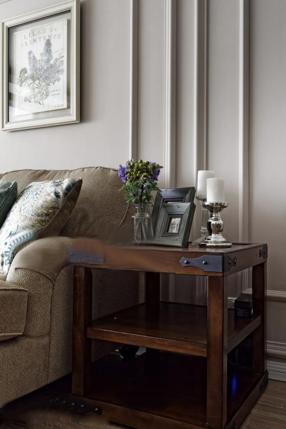 美式家居风格的住宅室内实景图-美式家居风格的住宅第3张图片