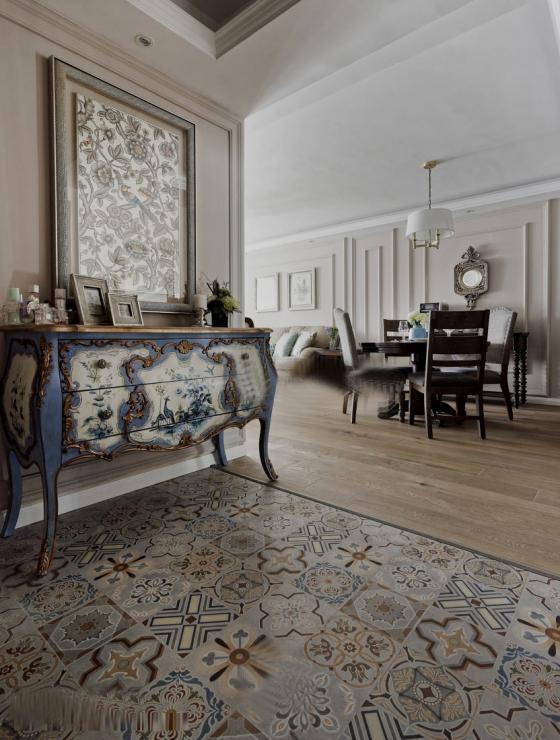 美式家居风格的住宅室内实景图-美式家居风格的住宅第5张图片