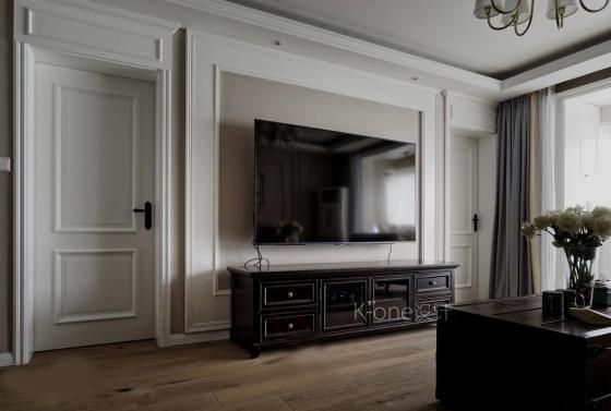 美式家居风格的住宅室内实景图-美式家居风格的住宅第4张图片