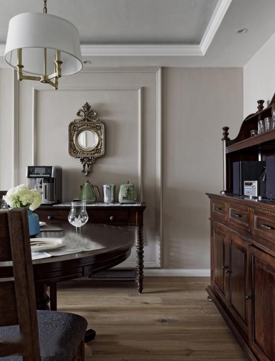 美式家居风格的住宅室内实景图-美式家居风格的住宅第8张图片