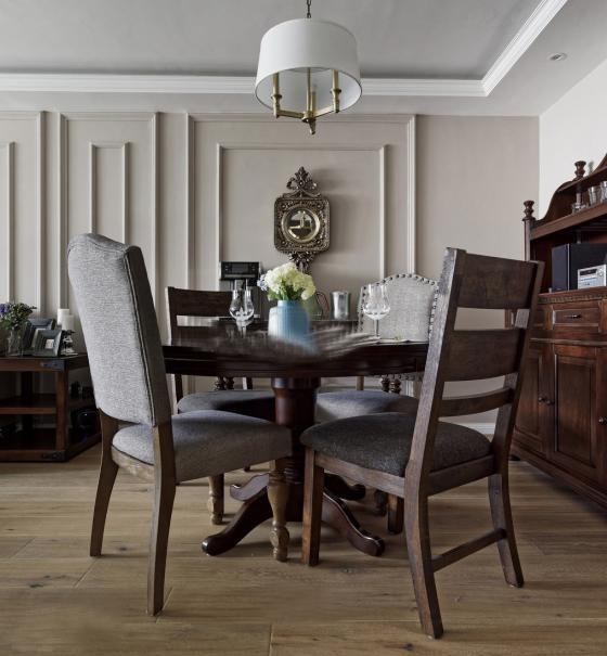 美式家居风格的住宅室内实景图-美式家居风格的住宅第10张图片