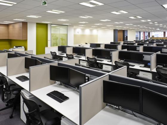 日本NBC环球公司办公室室内实景图-日本NBC环球公司办公室第2张图片