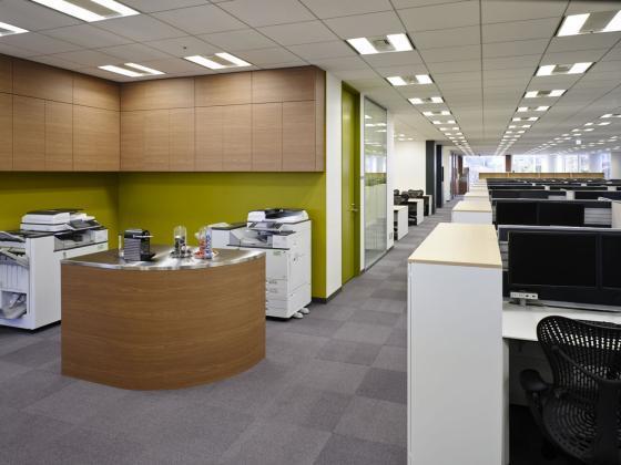日本NBC环球公司办公室室内实景图-日本NBC环球公司办公室第3张图片
