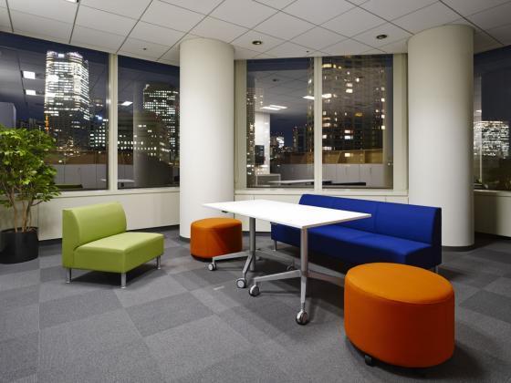日本NBC环球公司办公室室内实景图-日本NBC环球公司办公室第9张图片