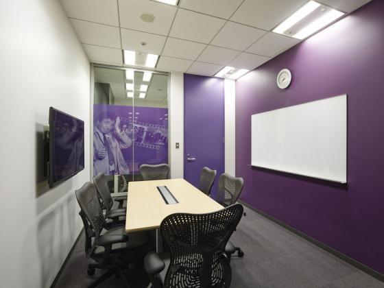 日本NBC环球公司办公室室内实景图-日本NBC环球公司办公室第10张图片