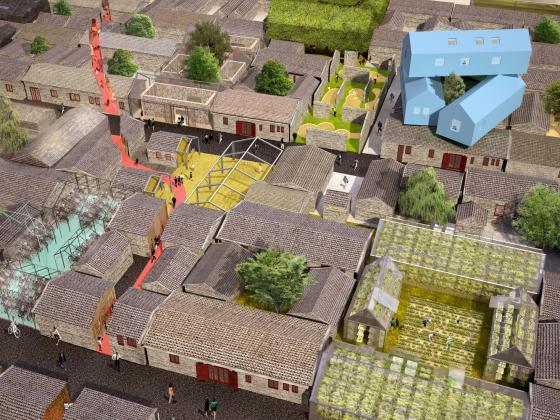 北京胡同的改造效果图-北京胡同的改造第2张图片