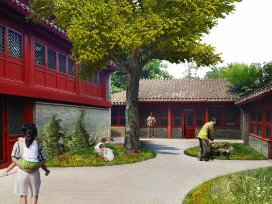 北京胡同的改造效果图-北京胡同的改造第7张图片
