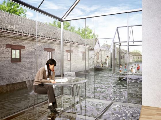 北京胡同的改造效果图-北京胡同的改造第14张图片