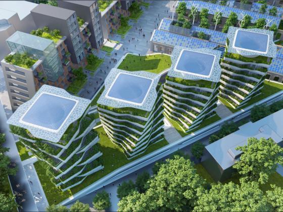 意大利未来城市的总体规划第1张图片