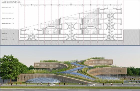 意大利未来城市的总体规划效果图-意大利未来城市的总体规划第13张图片