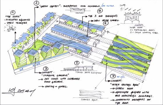 意大利未来城市的总体规划草图-意大利未来城市的总体规划第14张图片