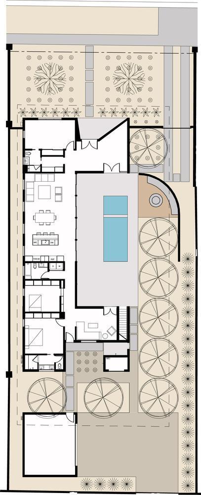 美国凤凰城Sol住宅平面图-美国凤凰城Sol住宅第17张图片