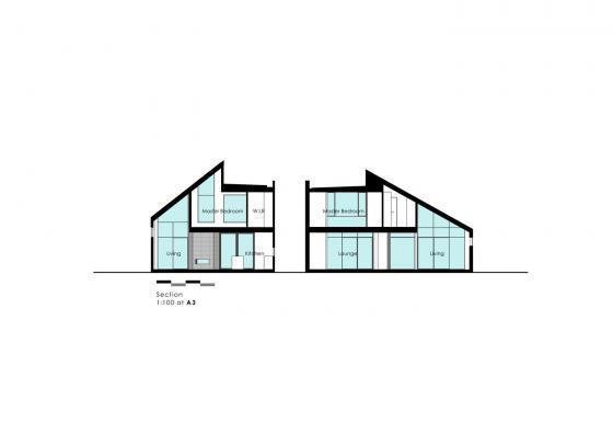伊拉姆鹰谷平台住宅剖面图-伊拉姆鹰谷平台住宅第12张图片
