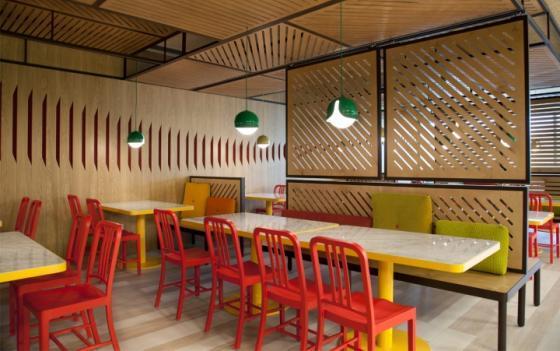 西班牙可口可乐总部员工餐厅室内-西班牙可口可乐总部员工餐厅第4张图片