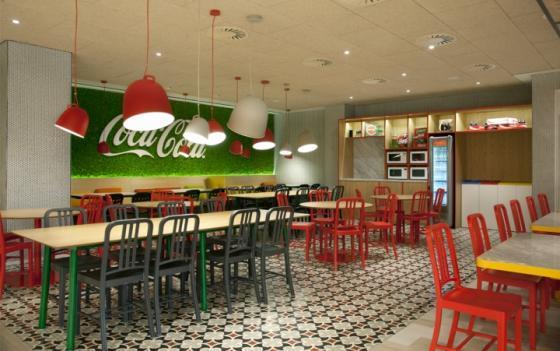 西班牙可口可乐总部员工餐厅室内-西班牙可口可乐总部员工餐厅第5张图片