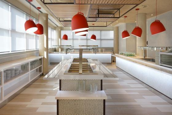 西班牙可口可乐总部员工餐厅室内-西班牙可口可乐总部员工餐厅第10张图片