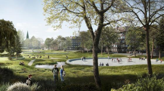 丹麦Hans公园及其周边环境的改造-丹麦Hans公园及其周边环境的改造第2张图片