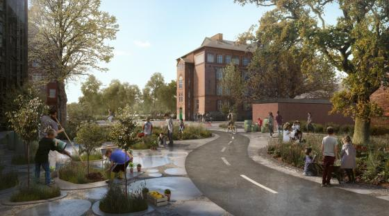 丹麦Hans公园及其周边环境的改造-丹麦Hans公园及其周边环境的改造第3张图片