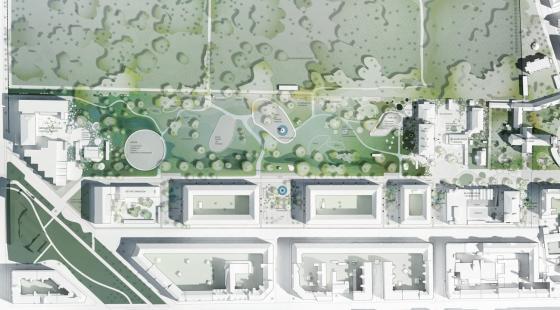 丹麦Hans公园及其周边环境的改造-丹麦Hans公园及其周边环境的改造第9张图片