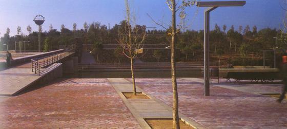 上海古城公园规划外部实景图-上海古城公园规划第2张图片