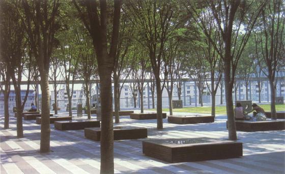 上海古城公园规划外部实景图-上海古城公园规划第3张图片