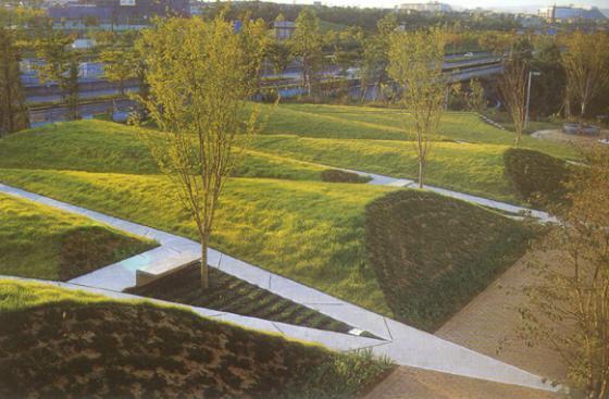 上海古城公园规划外部实景图-上海古城公园规划第5张图片